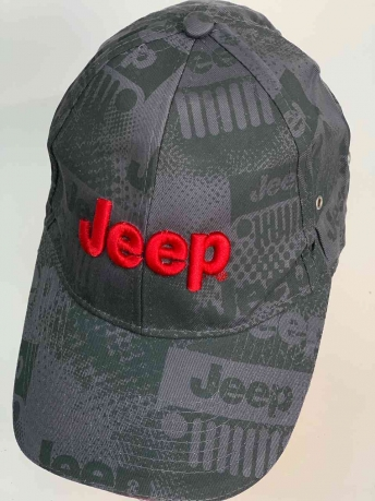 Топовая бейсболка с логотипом JEEP