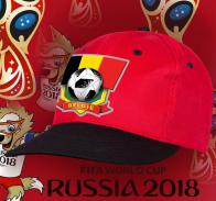 Топовая фанатская кепка сборной Бельгии