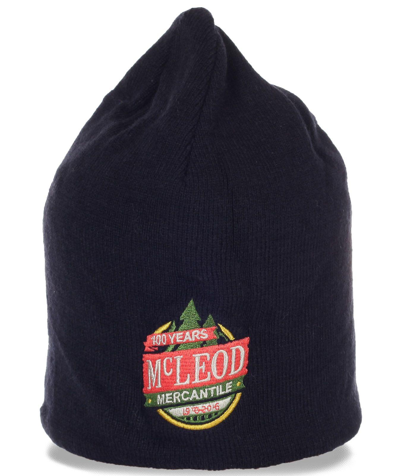 Топовая флисовая шапочка для мужчин от McLeod