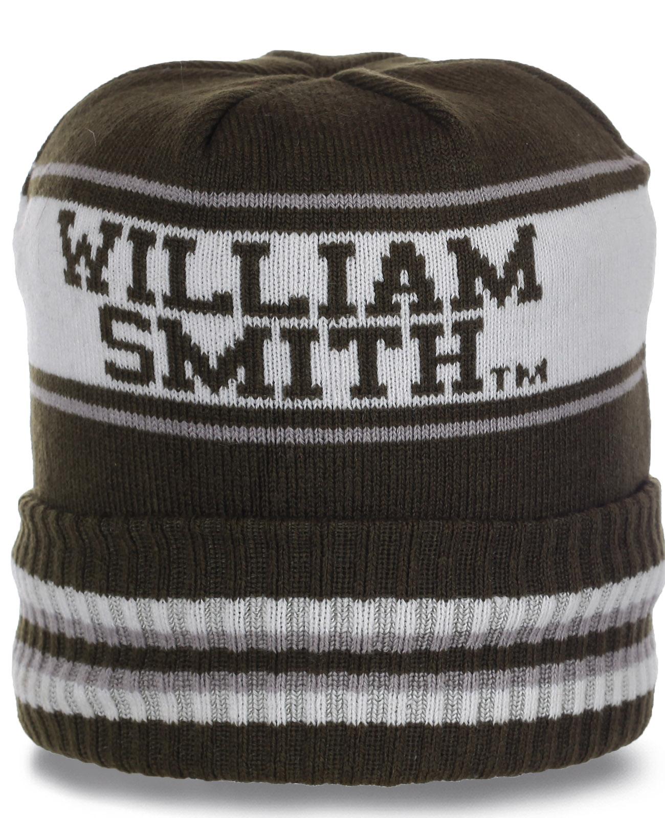 Топовая флисовая спортивная мужская шапка от William Smith