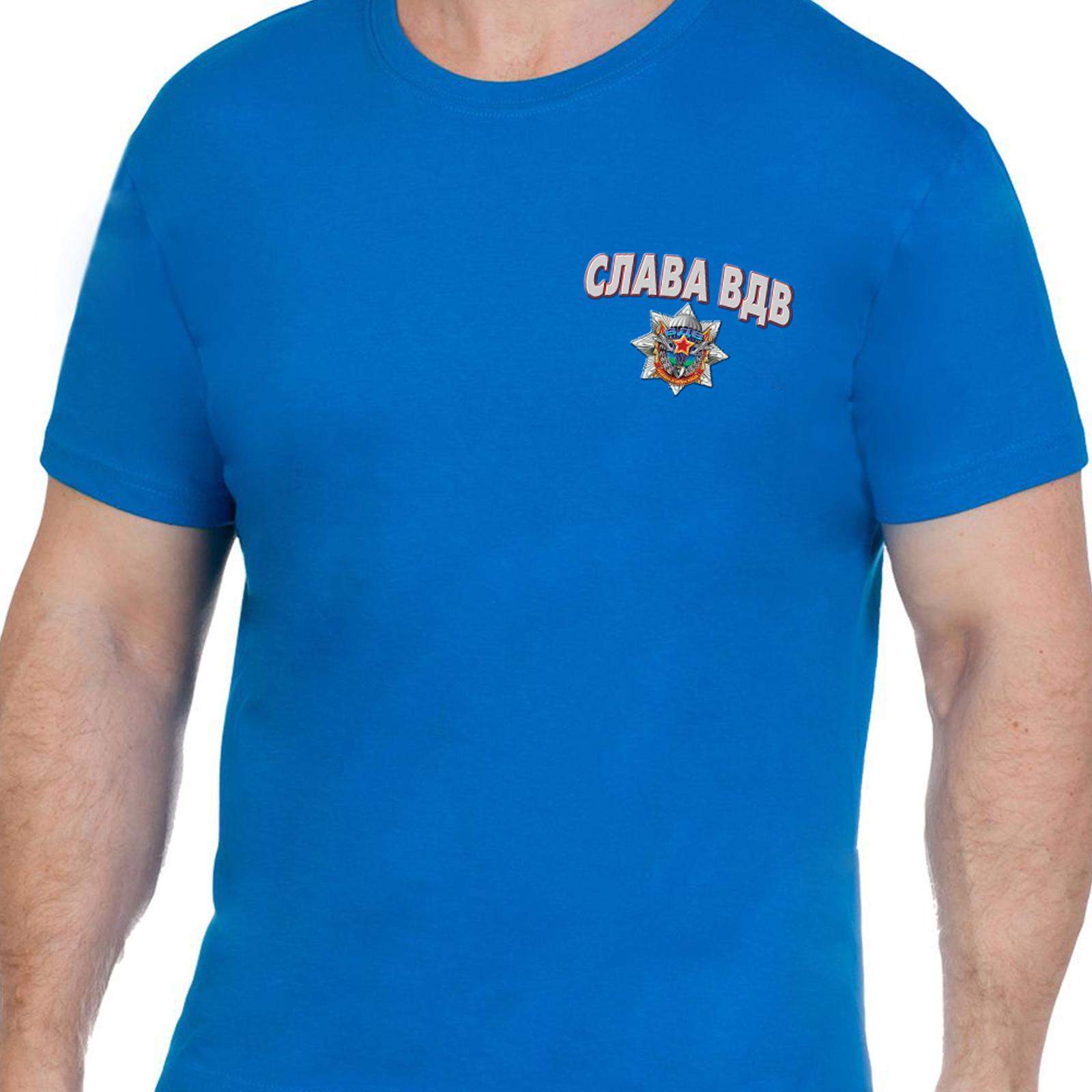 Купить топовую футболку десантника Слава ВДВ