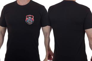 """Топовая футболка с нашивкой """"Выше нас только звёзды"""""""