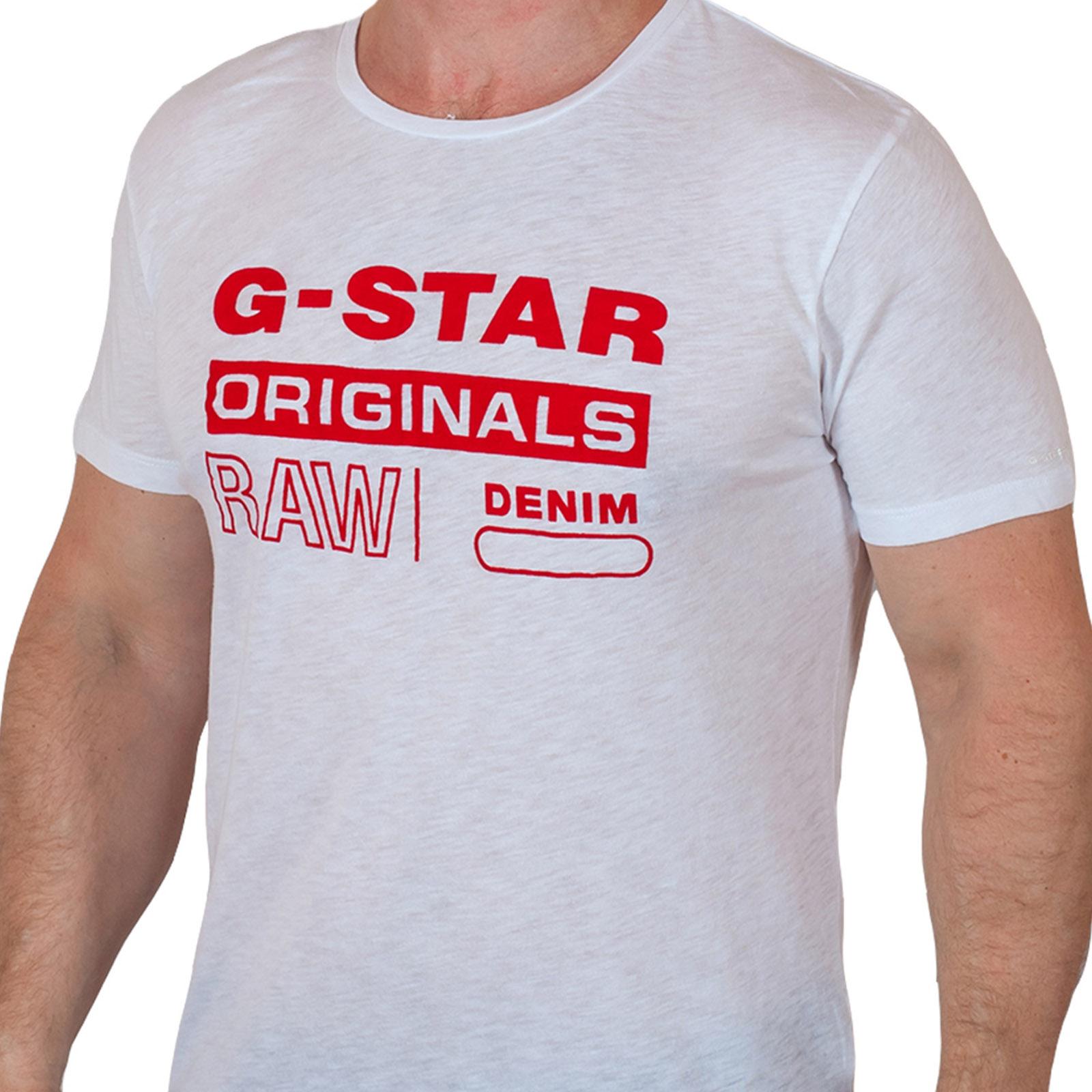 Топовая городская футболка G-Star Raw® Originals Denim N469