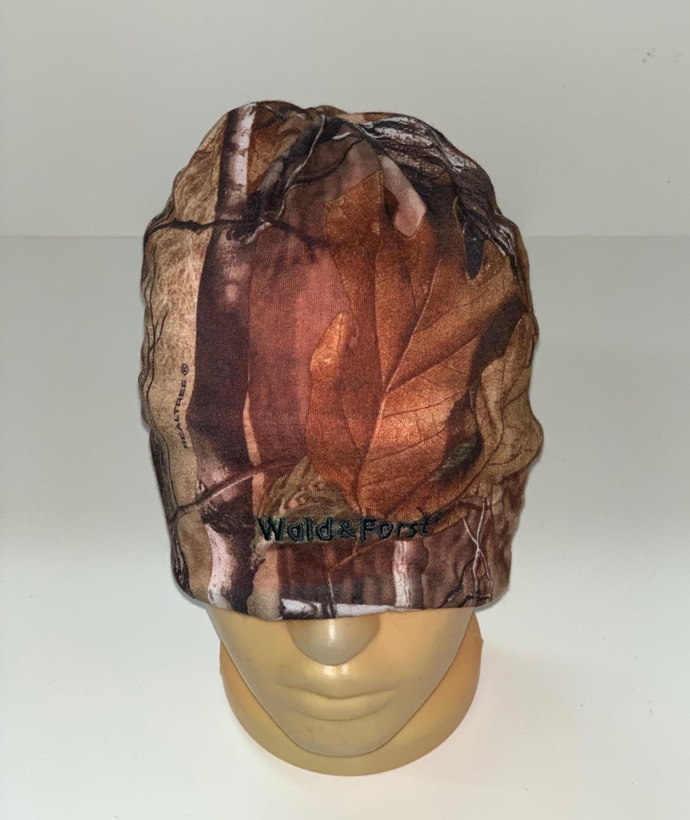 Топовая камуфлированная шапка