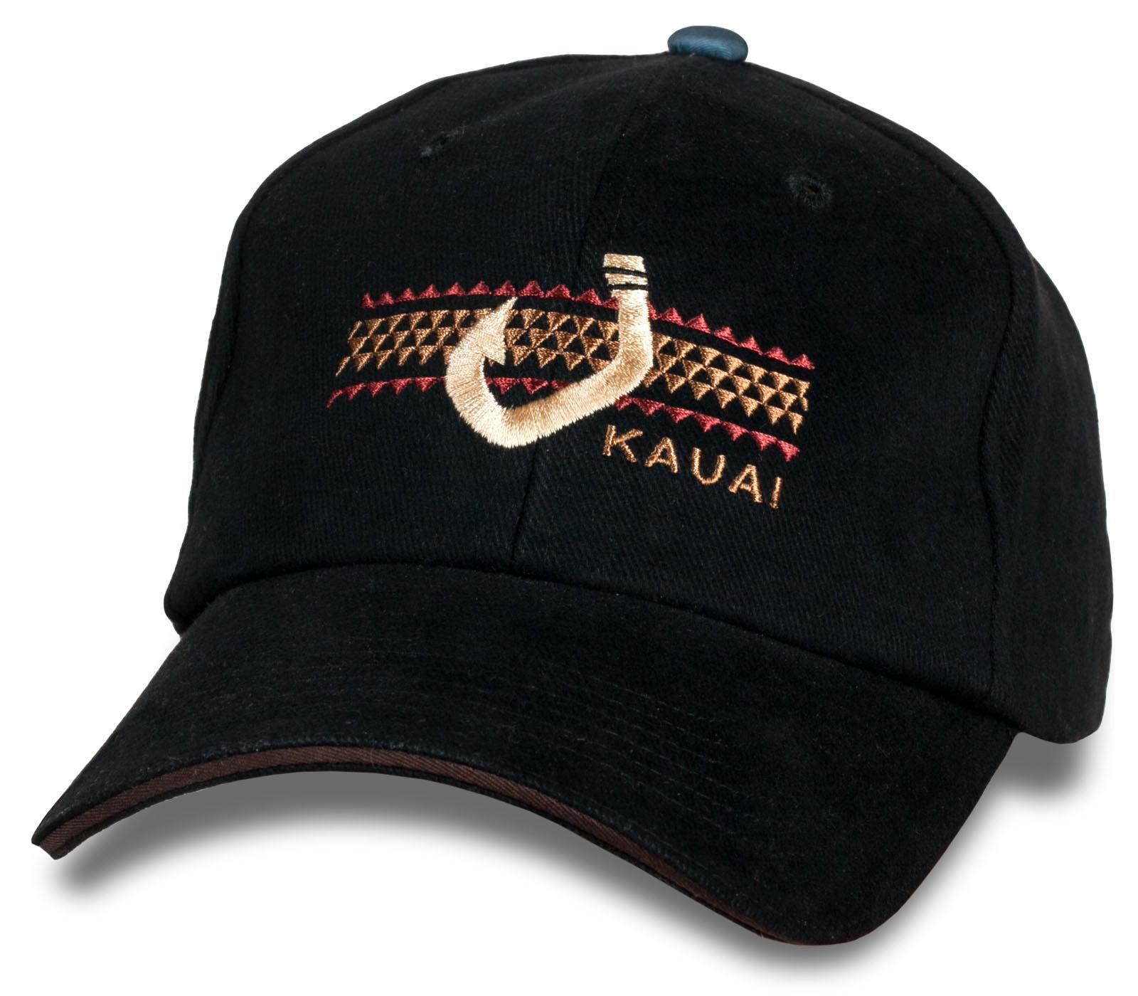 Топовая кепка-бейсболка Kauai.