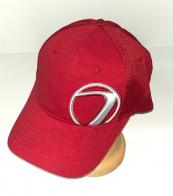 Топовая красная бейсболка с брендовой вышивкой