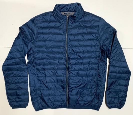Топовая мужская куртка темно-синего цвета
