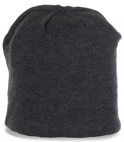 Топовая мужская шапка на флисе