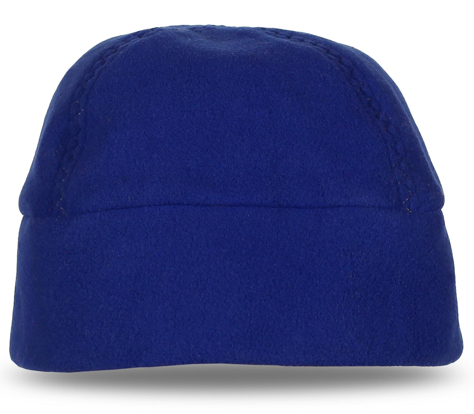 Топовая синяя шапка