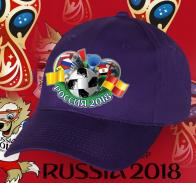 Топовая темная бейсболка фанату Россия 2018