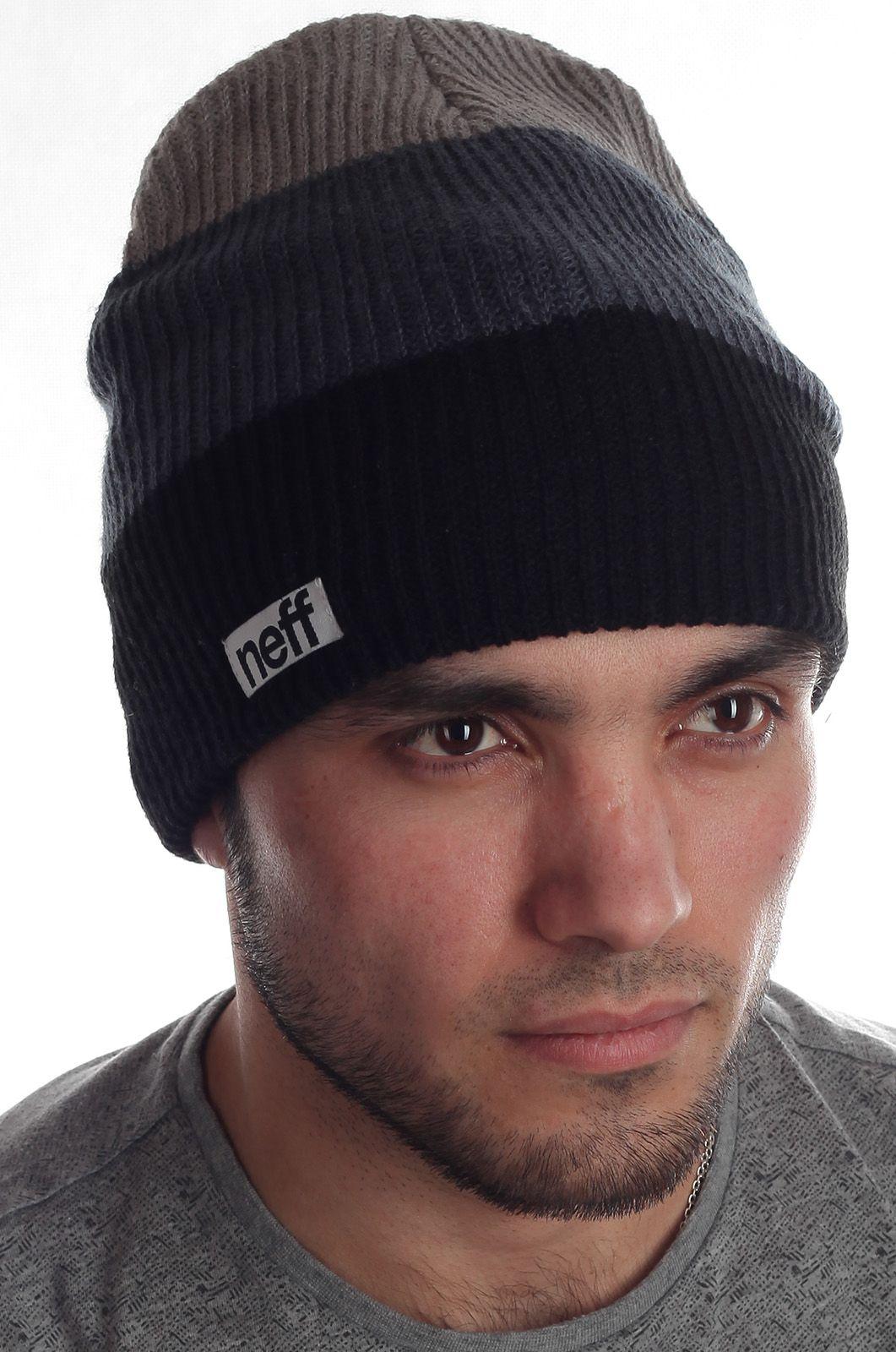 Топовая универсальная шапка бини молодежной модели бренда Neff
