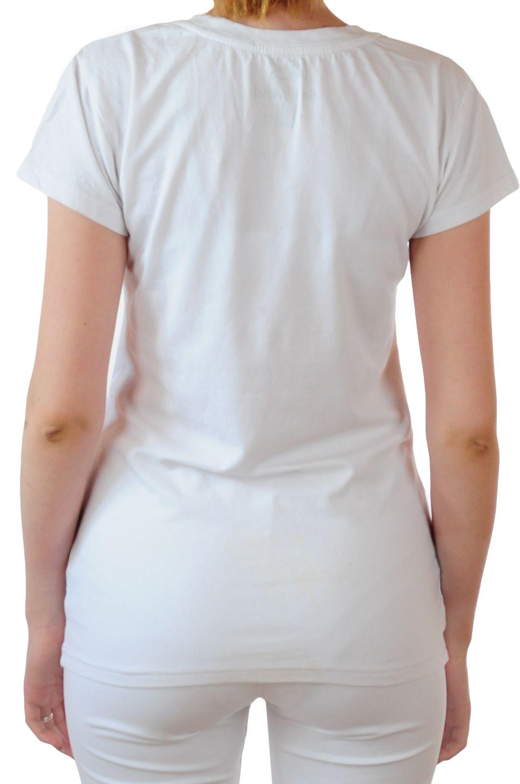 Топовая женская футболка Hard Rock® Las-Vegas - вид сзади
