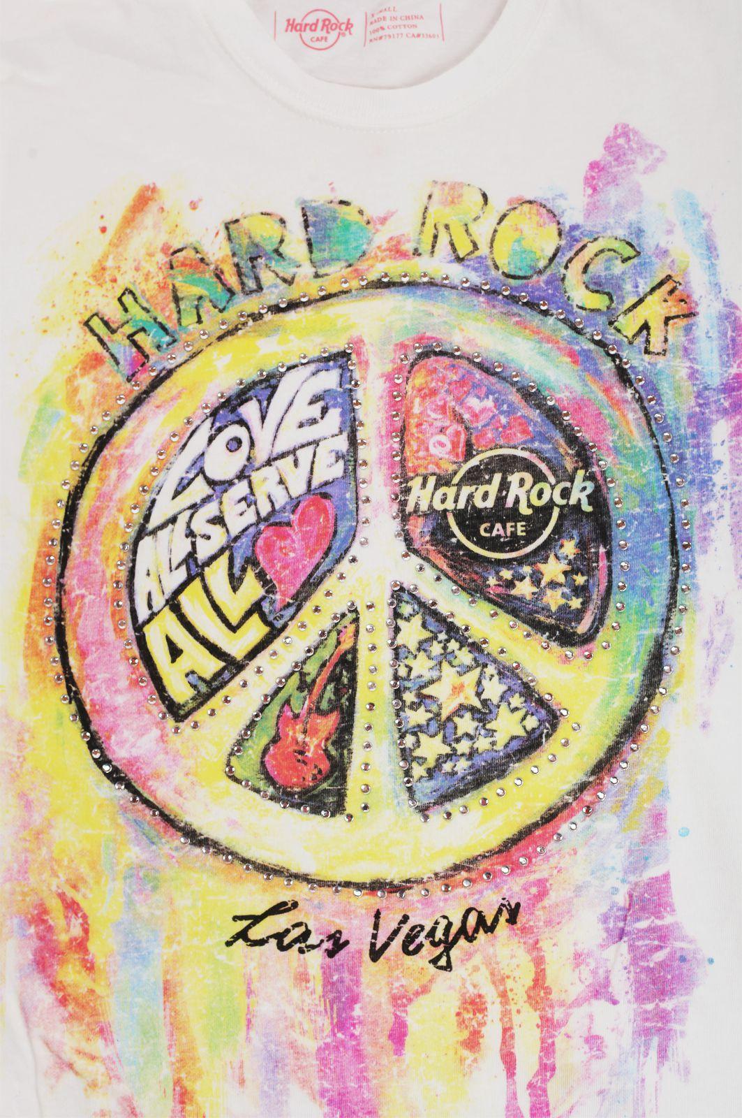 Топовая женская футболка Hard Rock® Las-Vegas - принт
