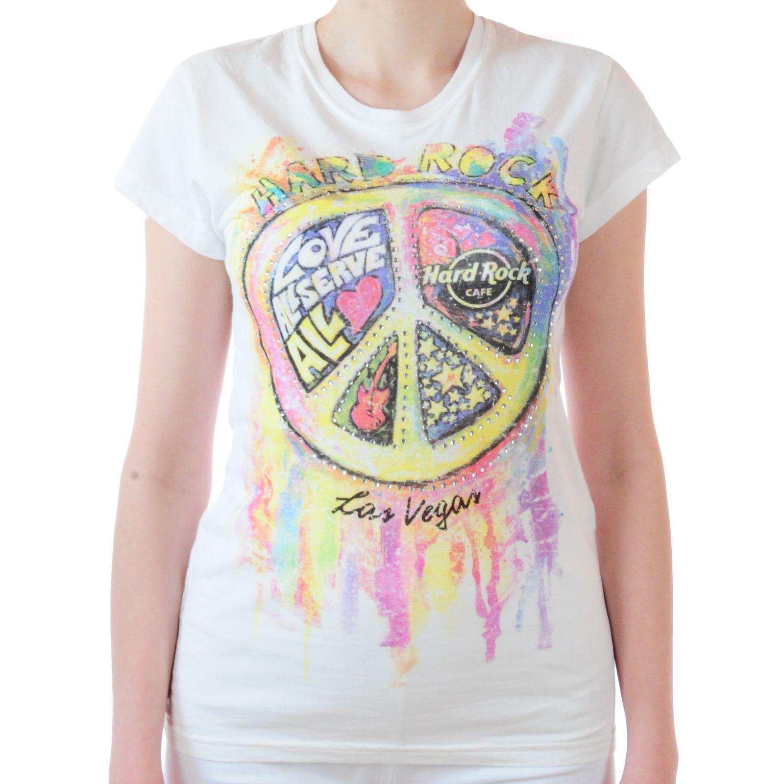 Топовая женская футболка Hard Rock® Las-Vegas