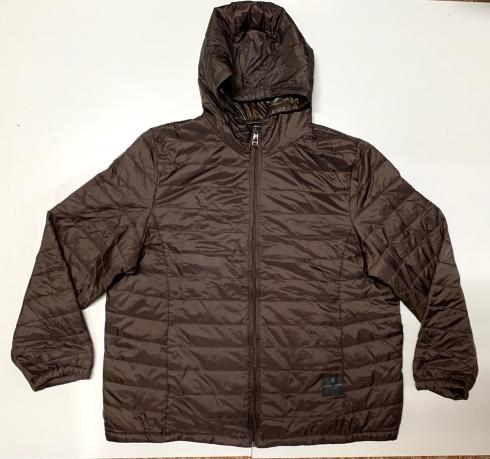 Топовая женская куртка темно-коричневого цвета