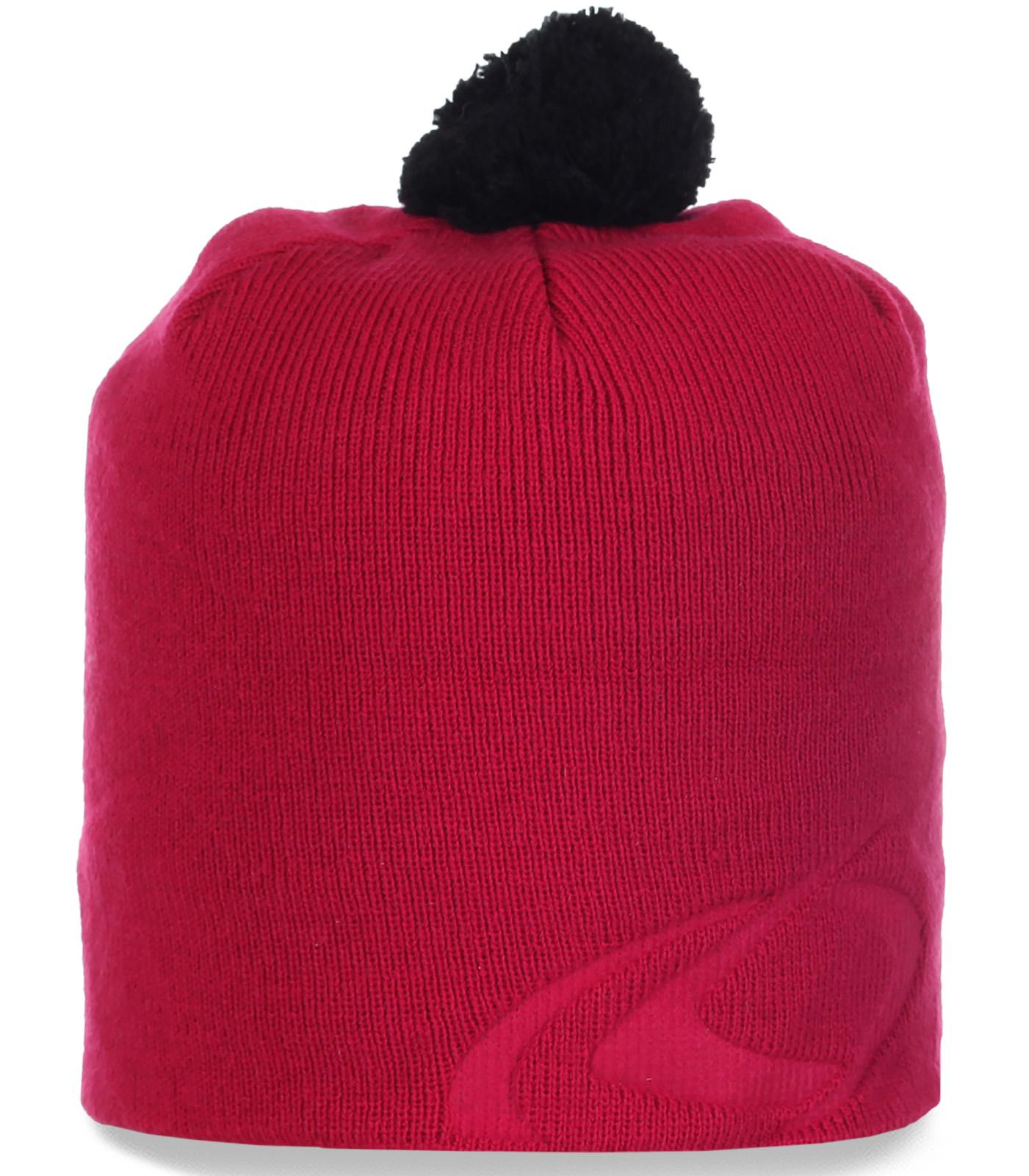 Топовая женская трикотажная шапка для межсезонья оригинального супермодного дизайна