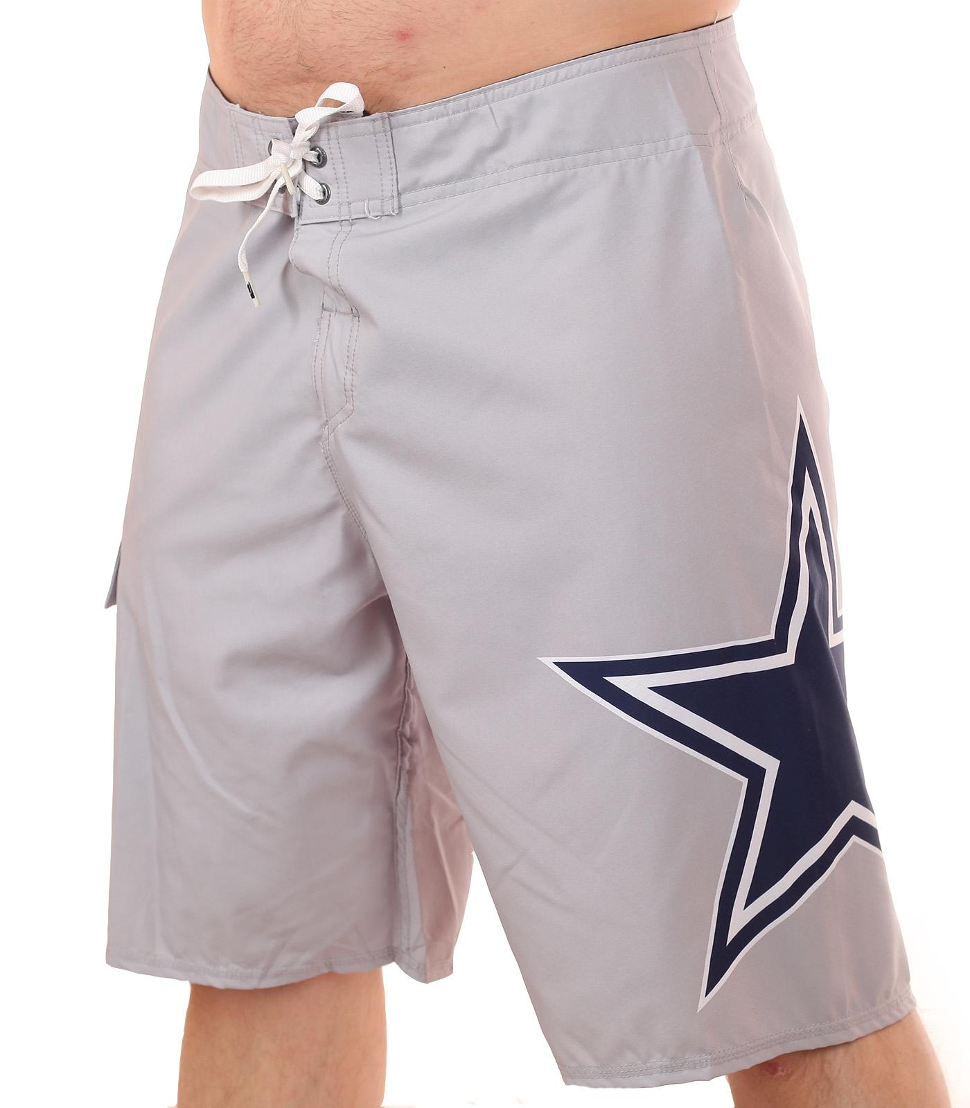 Топовые бордшорты с логотипом футбольного клуба НФЛ Dallas Cowboys