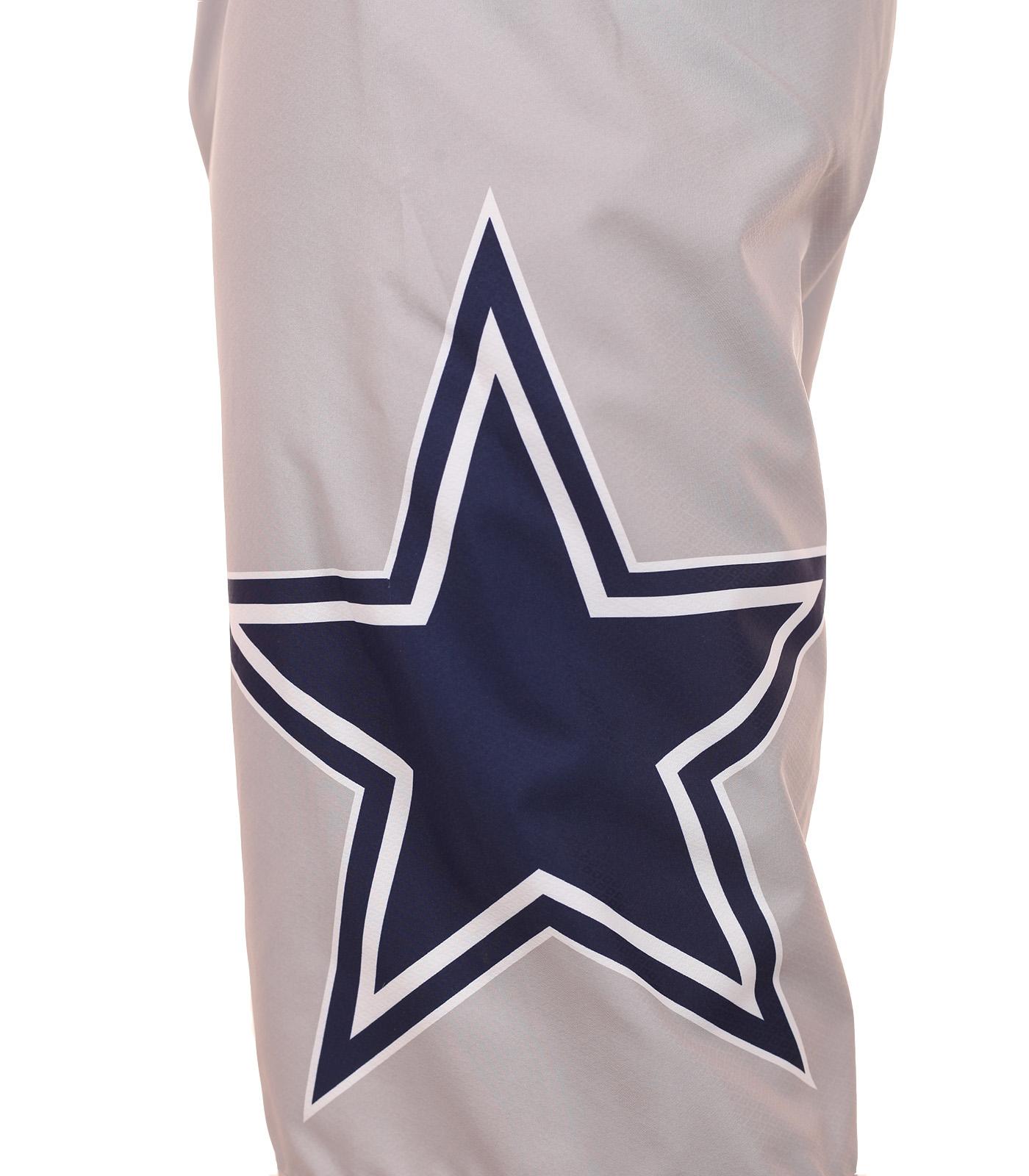 Топовые бордшорты с логотипом футбольного клуба НФЛ Dallas Cowboys - вид сбоку