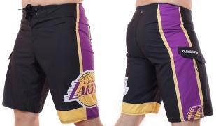 Топовые бордшорты Los Angeles Lakers - общий вид