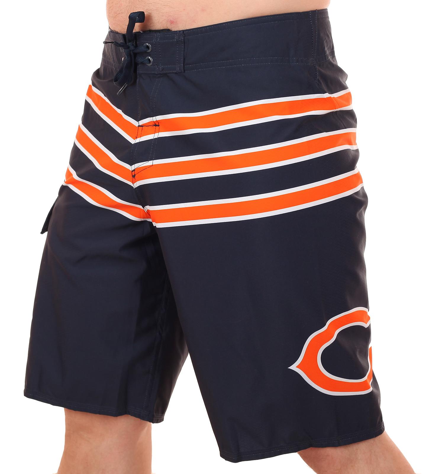 Бордшорты с логотипом футбольного клуба Chicago Bears