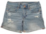 Топовые джинсовые шорты American Eagle