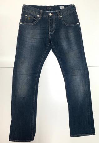 Топовые мужские джинсы темные