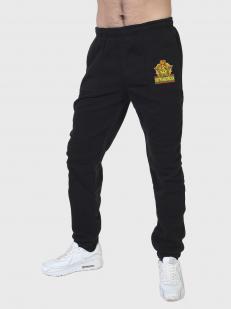 Топовые спортивные штаны для пограничника с вышитой нашивкой