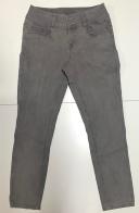 Топовые женские джинсы серого цвета