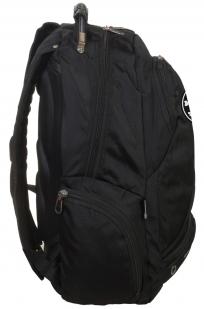 Топовый городской рюкзак с нашивкой Адамова голова купить выгодно