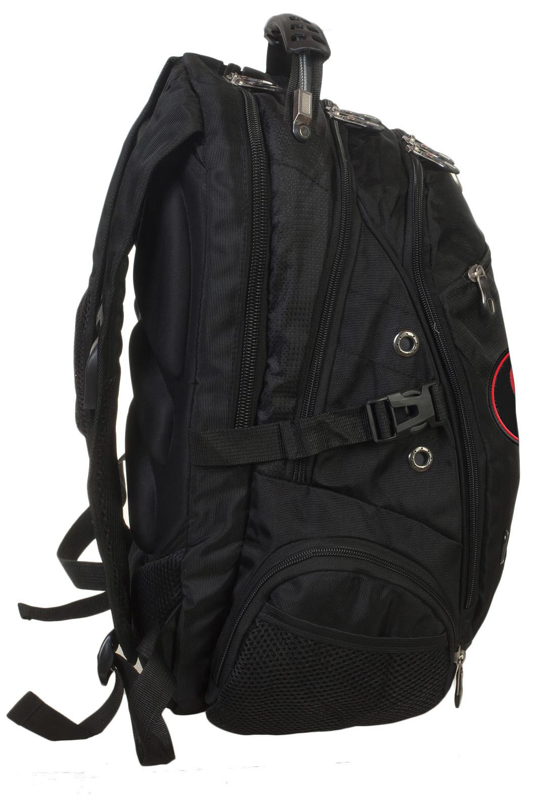 Заказать топовый городской рюкзак с нашивкой КАРАТЕЛЬ