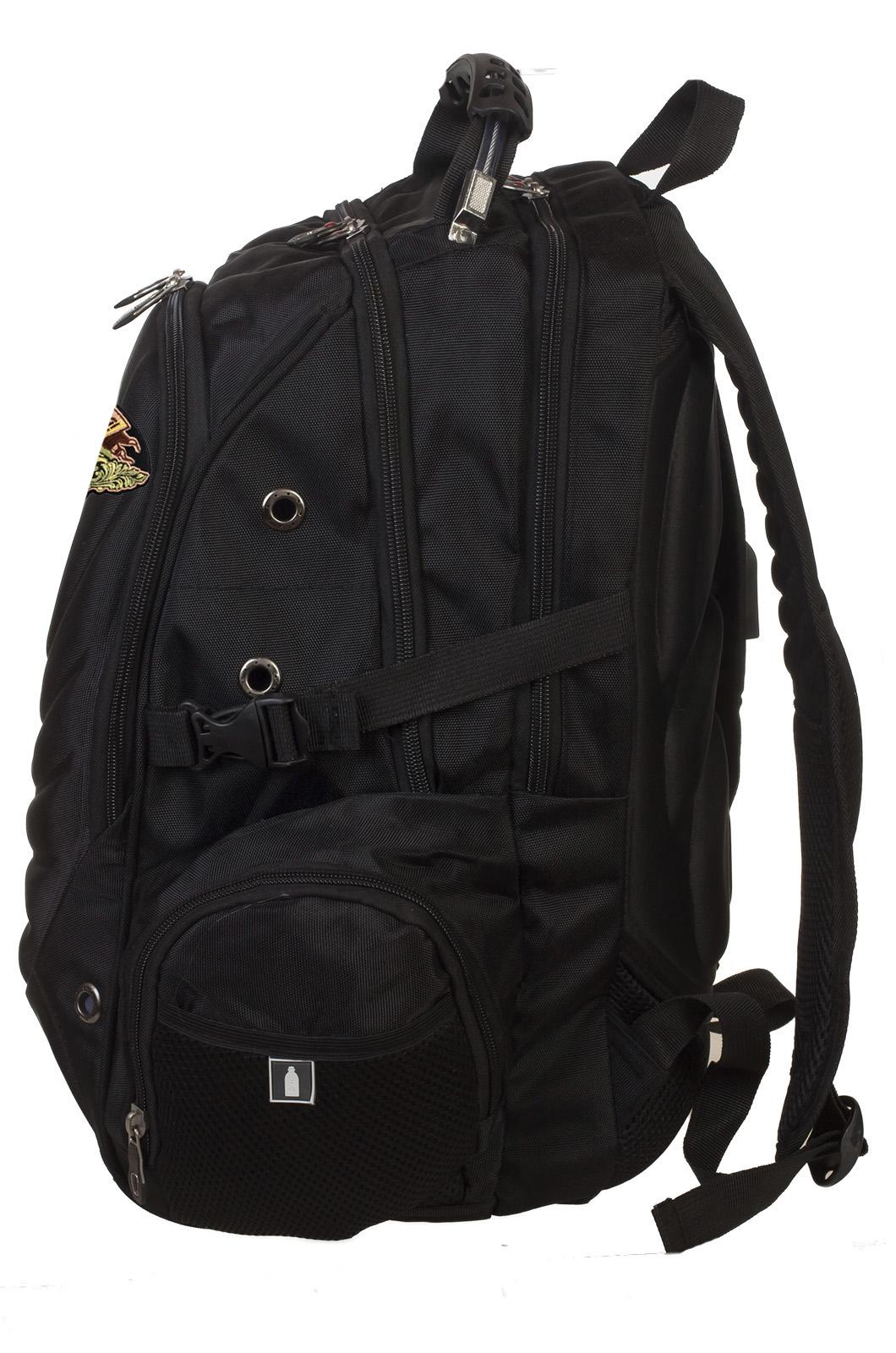 Топовый городской рюкзак с охотничьей нашивкой Ни пуха, ни пера! купить оптом