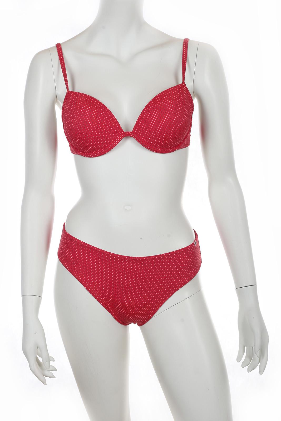 Топовый красный купальник Olympia.