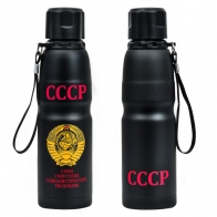 Топовый термос с гербом СССР