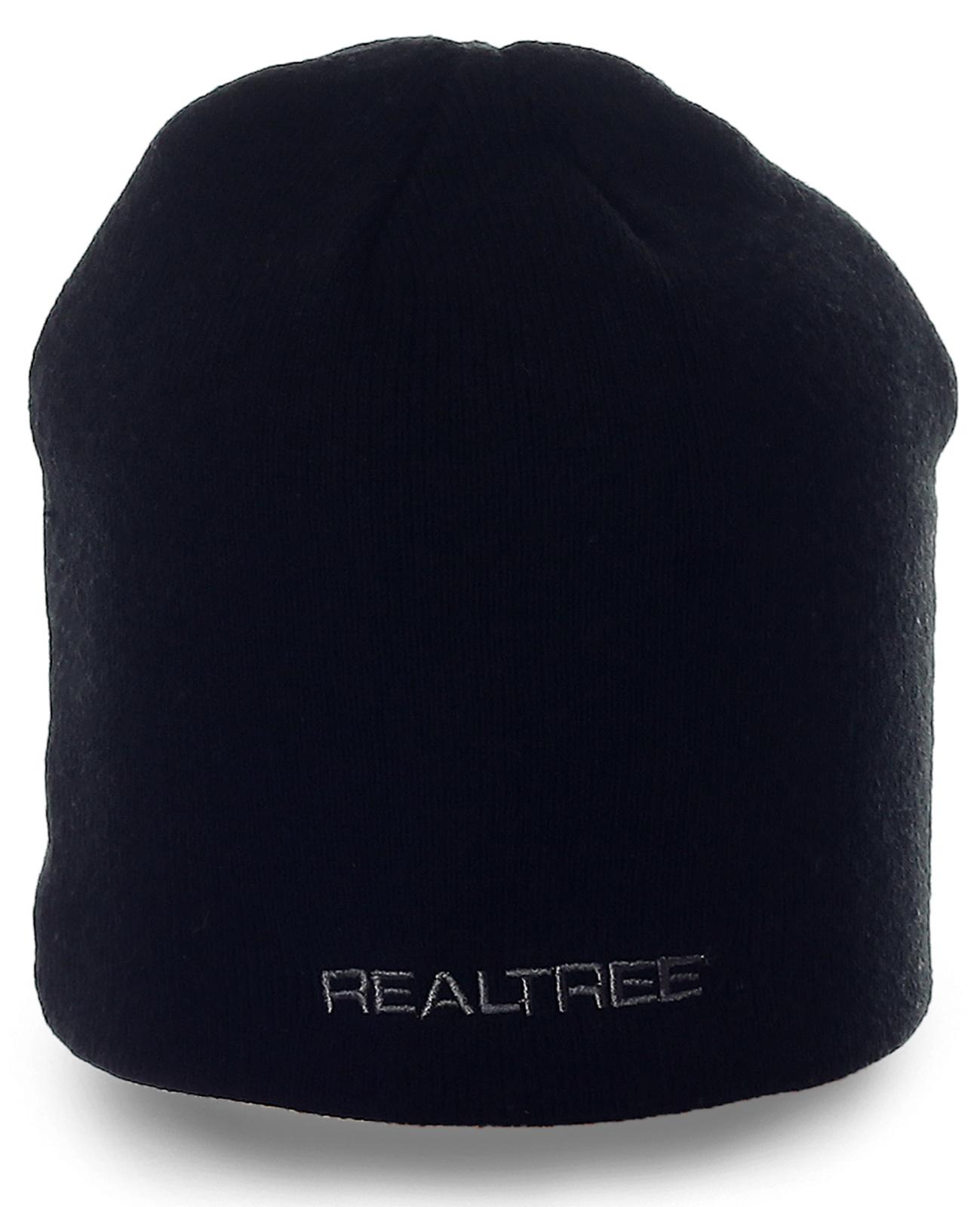 Традиционная мужская черная шапка для ценителей качества