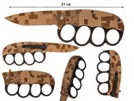 Траншейный нож US 1918 Digital Desert Camo