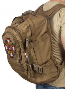 Трехдневный эргономичный рюкзак с нашивкой Потомственный Казак - купить в подарок