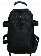 Трехдневный рейдовый рюкзак Expandable Backpack (40 литров, черный)