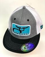 Трехцветная кепка-реперка Ropesmart
