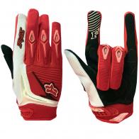 Трехцветные чопперские перчатки от Clarino