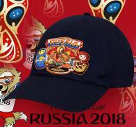 Тренд от дизайнеров Военпро - бейсболка с принтом Russia «Русский Медведь с балалайкой» современный аксессуар для патриотов. Предложение ограничено!