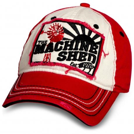 Трендовая бейсболка Machine Shen.