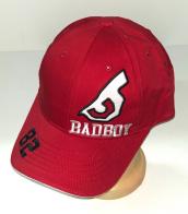 Трендовая бейсболка от Bad Boy красного цвета