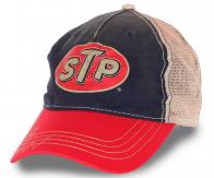 Трендовая бейсболка  STP с сеткой для лета