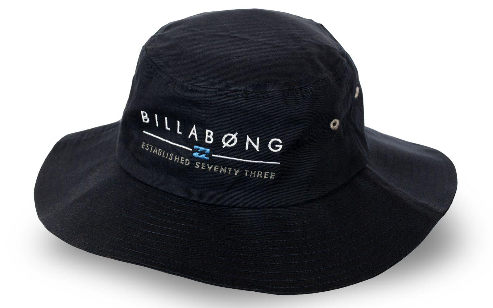 Трендовая черная шляпа Billabong