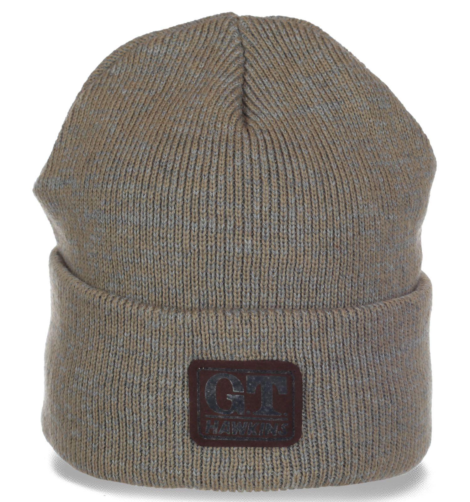 Трендовая флисовая мужская шапочка от GT Hawkins