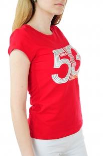 Трендовая футболка Body Glove® для девушек - вид сбоку