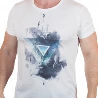 Молодёжная футболка Max Youngmen с абстрактным рисунком.