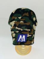 Трендовая камуфляжная шапка