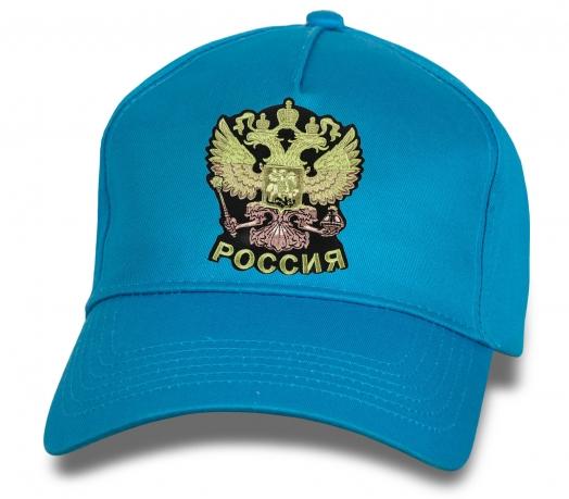 Трендовая кепка с гербом России