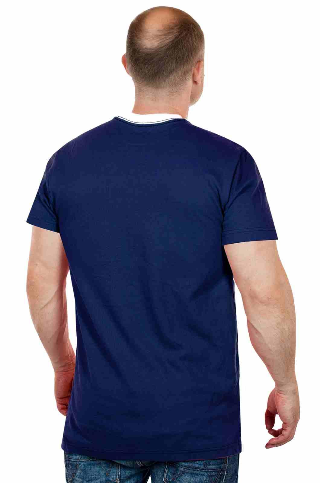 Трендовая мужская футболка от Ralph Lauren (США)-сзади